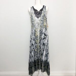 NWT One World Maxi Dress with Lace Detail
